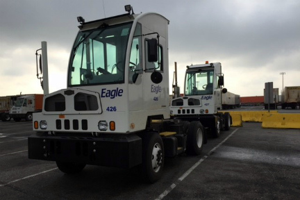 Eagle Intermodal Revamps their Terminal Tractor Fleet