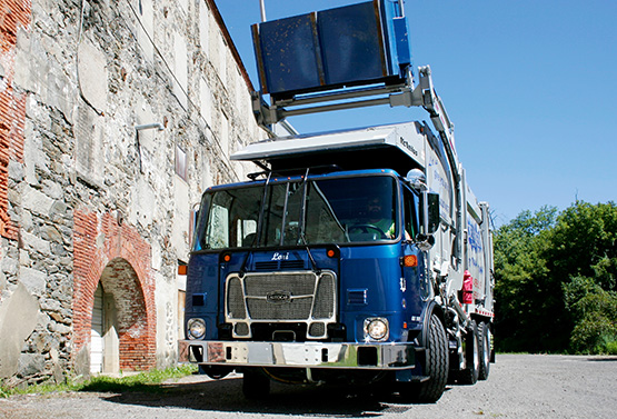 Autocar truck cab strength driver safety